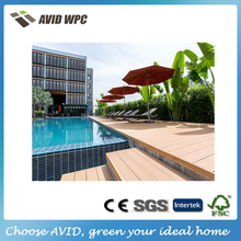 Discount composite materials swimming pool outdoor decking wood flooring
