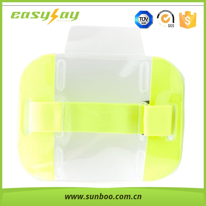 High Visable reflective sport running armband jogging case, waterproof case