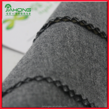 China supplier changzhou factory brushed grey melange, cotton flannel fabric