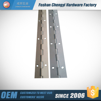 steel plated white painting long hinge.