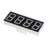 0.56 inch 7 segment red common anode 7 gment digital throughhole led display 4 digit