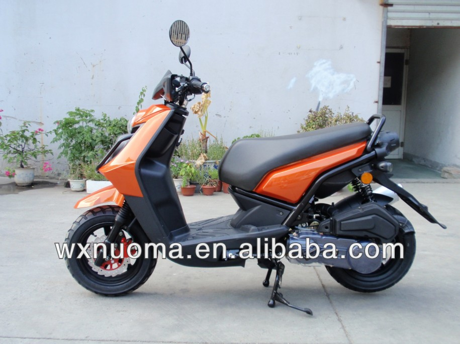 Chinese cheap durable 125cc gas scooter with EEC , NOOMA NM125T-2C