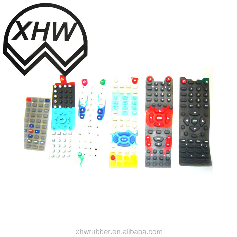 Customize dustproof Overmolding Single Keypads
