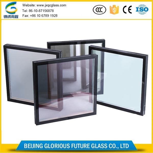 OEM China factory tinted tempered low e insulated glass curtain wall