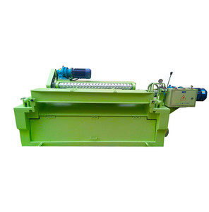 Particle board making wood tree log debarking machine