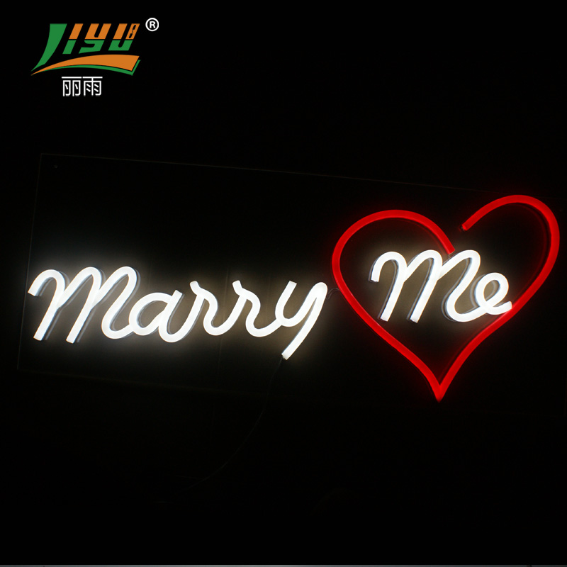 Liyu custom neon signs for individual for decoration