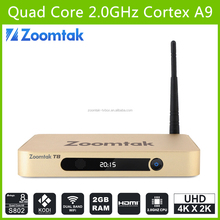 Amlogic S802 Quad Core Android Smart Tv Box Turkish Channels Google T8 Quad Core TV Box Android 5.1 Best Iptv Set Top Box