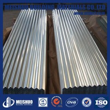 Zinc Coated Corrugated Roofing Sheet Metal in Construction