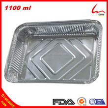 Rectangle Food Serving Disposable Aluminium Foil Trays