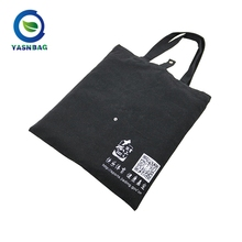 Wholesale promotional custom printed natural cotton canvas cloth tote shopping bag