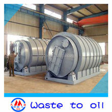 new technology! oil&carbon black extracting machine by using waste tyre environment friendly