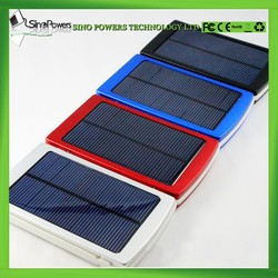 High conversion rate 1.5W solar panel mobile charger power bank 10000mAh