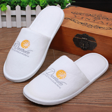Best quality waffle or terry 200gsm hotel and spa <strong>slippers</strong> with custom design