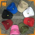 Custom embriodered 100% cotton baseball hat/cap