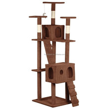 Large Base Cat Tree Tall Condo Furniture