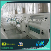 220T Per Day Corn/maize Flour Processing Equipment WIth PLC