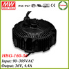Meanwell HBG-160-36 ip67 waterproof electronic led driver