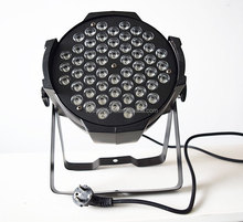 Excellent color mixing LED 3W 3in1 54PCS strips led Light Professional Factory Price LED Par Light