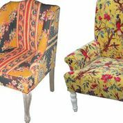 Designer armchair ethnic bohemian style many designs