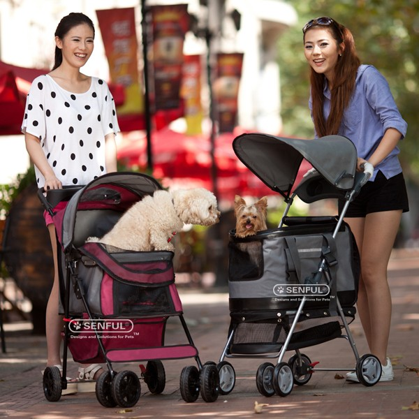 pet stroller, luxury pet dog stroller