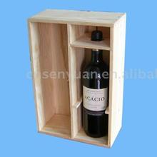 2015 Wooden wine box(LFGB, FSC,PCP)