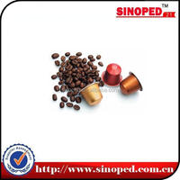 Rotary Type Coffee Capsule Sealing Machine with Glass Cover