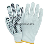 pvc dotted gloves china wholesale