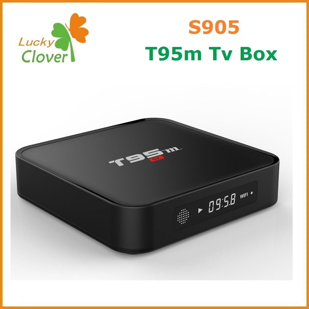 Support LED Display T95m Amlogic S905 Google Android 5.1 Smart TV Box T95m