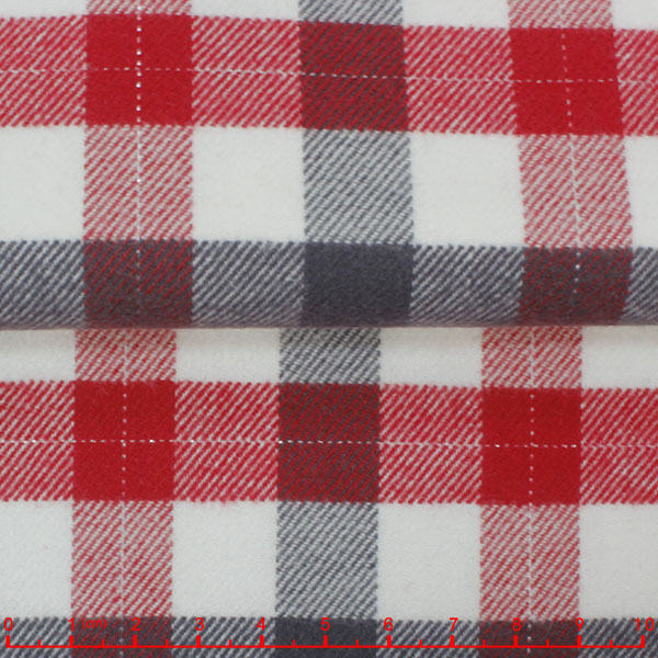 leftover stock 100% cotton twill flannel