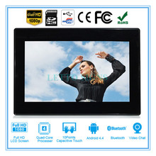 New design digital photo frame 2.4 inch with picture slideshow dpf-7001 lcd display 7 inch led digital frame