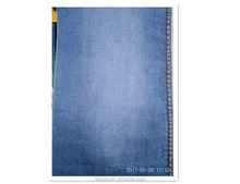 BCI Cotton Poly Rayon Stretch Straight Jeans High Quality Blue Denim Fabric