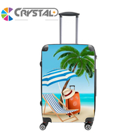 Customized Design Travel bags Men And Women Business Spinner Rolling urban trolley luggage