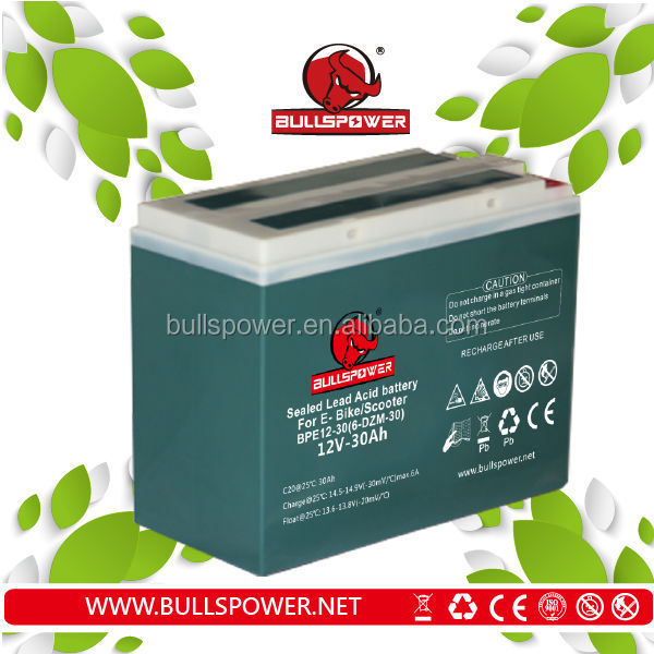 48 volt green evs electric car/ebike battery pack 12v 30ah