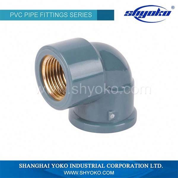 pvc rubber fittings/22.5 degree pvc rubber elbow (DIN standard)