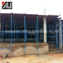 African Type Metal Formwork Panel System For Forming Concrete