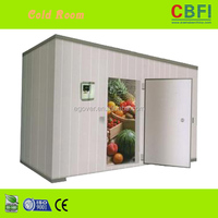 Low power consumption cold room for fruit vegetable fresh price