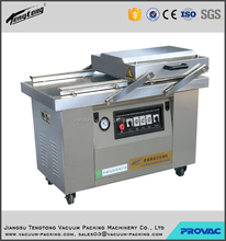 frozen chicken wings automatic double chamber vacuum packing machine or plastic bag sealing machine with CE certificate