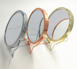 Hot Sale Double Sides Desktop Makeup Table Mirror China Factory Wholesale Cheap Price Hand Mirror