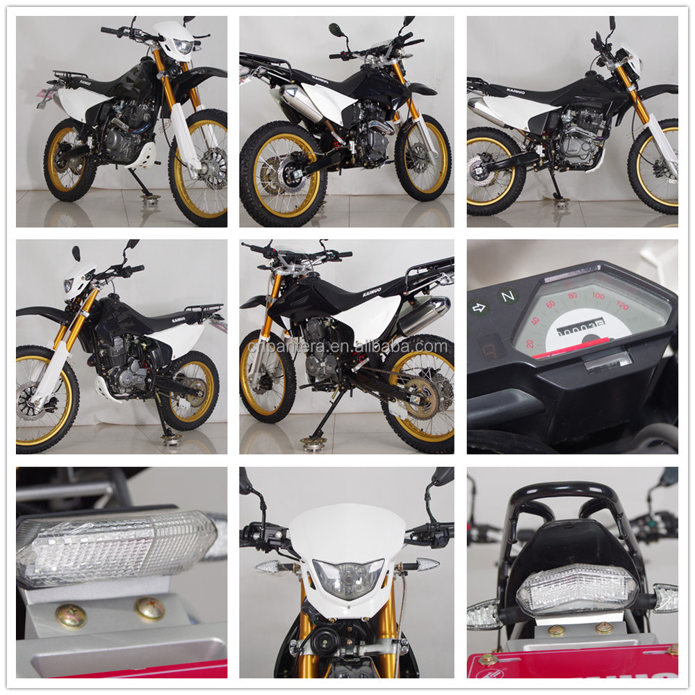 China High Quality 200cc Off Road Motocicleta for Peru
