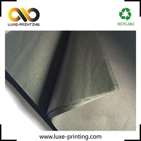 Jewelry protecting high quality Xiamen custom black color tissue paper