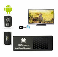Dual Core Mini PC MK808C RockChip RK3066 Dual Core Cortex-A9 1.6GHz 1GB/8GB Android 4.2.2 Google TV Dongle