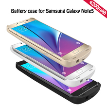 4200mAh Backup Charger Battery Case for Samsung Galaxy Note 5