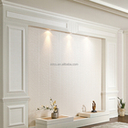 INTCO interior fireproof decorative wall plastic skirting board