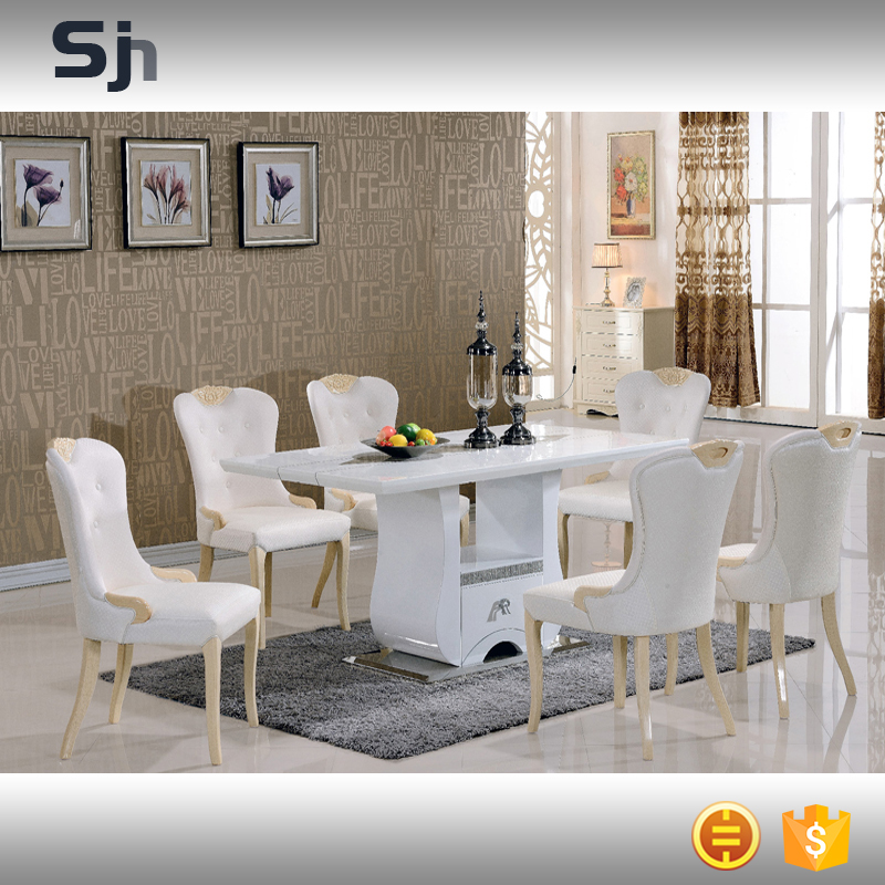 2016 new design dining tables and chairs set for F002