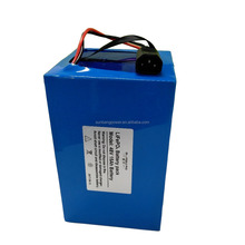 Long cycle life rechargeable lifepo4 48v 15ah ebike battery with High Discharging Rate