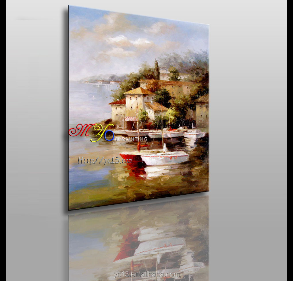 high quality classical landscape oil painting hotel artwork ct-44