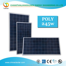 245w solar panel price per watt polycrystalline silicon solar panel