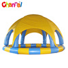 Customized inflatable swimming pool cover infatable pool tent for sale