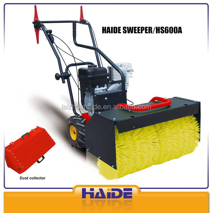 6.5 HP automatic power brush sweeper