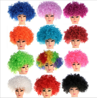 Synthetic Afro Wigs Halloween Wigs Halloween Party Jumbo Clown Wigs